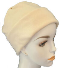 016ba1d61d2d6 Ladies Cancer Chemo CPAP Soft Sleep Caps Hair Loss Head Cover Scarf Liners  Cream