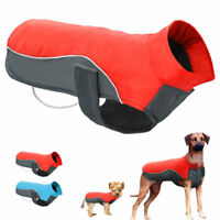 Waterproof Winter Dog Coat Clothes Fleece Padded Vest Pet Jacket S M XL 2XL 3XL