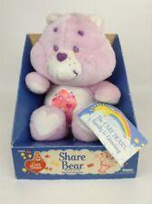 "New Vintage 1984 Kenner Original Care Bear 13"" SHARE Bear Stuffed Plush Toy"