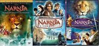 The Chronicles of Narnia Trilogy 1 2 3 (3 DVD SET, WS) DISNEY NEW FREE SHIPPING