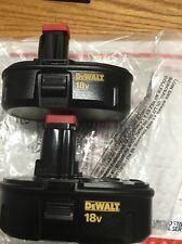 New (2) Dewalt DC9098 18V 18 Volt 1.2ah NiCd Batteries For Dc759,dc970,dc825