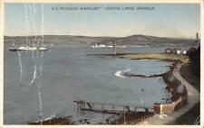 uk23523 princess margaret leaving larne harbour northern ireland uk
