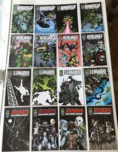 Teenage Mutant Ninja Turtles Minis, Mirage 2006-2009 Low Print, Complete Sets