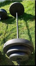 Weights Bar Barbell For Bench Press 40kg gym equipment Weights plates adjustable