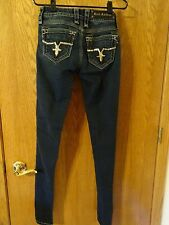 Rock Revival Super Skinny Jaclyn Jeans Size 26 EXCELLENT Used CONDITION