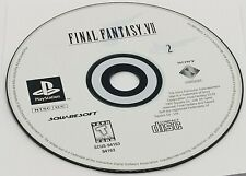 DISC #2: Final Fantasy VII (Sony PlayStation, 1997) PS1 BLACK LABEL REPLACEMENT