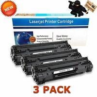 3pk CE285A 85A Black Ink Toner for HP LaserJet Pro P1102 P1102w M1212nf M1217nfw