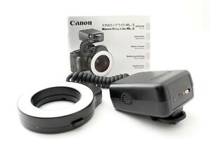 Canon Ring Lite ML-3 Flash Microlight MACRO FLASH/EX From Japan [Exc++] #797762A