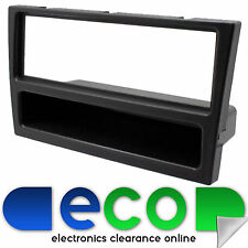 FP-19-00 Vauxhall Corsa 2000 - 2005 Car Stereo Single DIN Fascia Panel Black