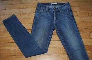 LEVIS 712 Jeans pour Femme W 25 - L 32 Taille Fr 34 Slim (Réf #O211)