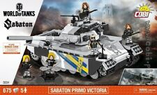 COBI Sabaton Primo Victoria  / 3034 / 675  blocks WWII heavy tank Small Army new