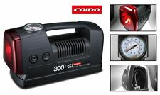 Branded Coido 3301 12V Car Tyre Tire Inflator Air Compressor Pump with Light