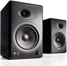Audioengine A5 Plus Classic150W Powered Bookshelf Speakers BLACK
