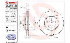 2x BREMBO Discos de freno delanteros Ventilado 300mm 09.8665.11