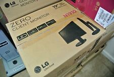 "LG 19"" LED ZERO CLIENT MONITOR N1910 PCoIP PC-OVER-IP VMARE 1280x1024 ETHERNET"