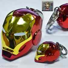 Marvel IRON MAN HELMET Metal KEYCHAIN Portachiavi Originale In Metallo In box
