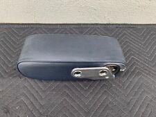 Mercedes R107 380SL 450SL 560SL OEM Center Console Armrest Blue Color