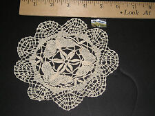 Wholesale LOT 36 Butterfly Pattern ECRU CLUNY LACE 6 inch DOILIES Free US Ship