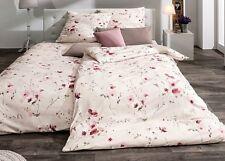 ESTELLA Bettwäsche Emma, Mako-Interlock-Jersey 135x200 cm Baumwolle Blumen Pink