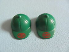 PLAYMOBIL @@ CHAPEAU VERT @@ CASQUE HAT @@ WESTERN @@ PIRATE @@ PERSONNAGE A21