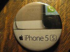 Apple Iphone 5 S Cell Phone Computer Logo Advertisement Pocket Lipstick Mirror