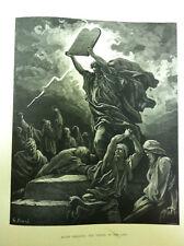 "Bible Dore Illus 12""x15"" c1866, Cassell Petter & Galpin"
