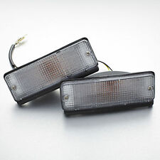 Toyota Corolla E70 KE70 TE71 TE72 front metal bumper clear turn signal light NEW