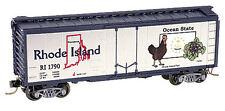 N Scale Micro-Trains Rhode Island State Car - Road Number RI 1790
