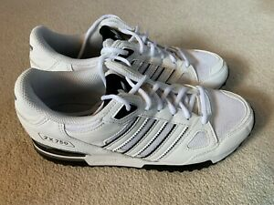 Adidas ZX 750 Style men's trainers in white/black/grey - size 7.5