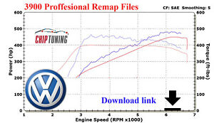 VW | ECU Chiptuning Tuned Files + Stage 1 > 2 = Remap Pack Performance Map =