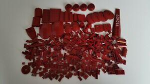 Lego  Bauteile Sonderteile in Dunkel Rot dunkelrot  Konvolut