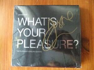 * JESSIE WARE * 2 CD * WHAT´S YOUR PLEASURE ? * PLATINUM *SIGNIERT / AUTOGRAMM *