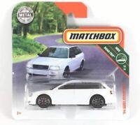 '94 Audi Avant RS2 White Matchbox Diecast Cars 1:64