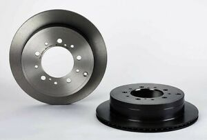 Brembo 09.A967.11 Disc Brake Rotor Rear|12 Month 12,000 Mile Warranty
