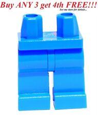 ☀️NEW Lego Legs Pants MINIFIGURE MINIFIG BOY GIRL Star Wars Plain BLUE