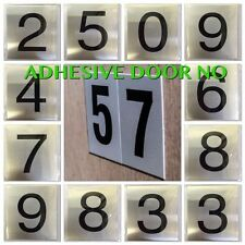 buy vinyl numbers adhesive decorative plaques signs ebay. Black Bedroom Furniture Sets. Home Design Ideas