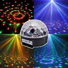 Night Magic Remote US Stage Disco Control Ball DJ Crystal Party &Music Mp3 Light