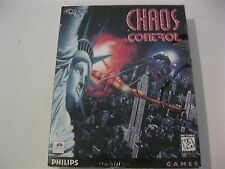 Chaos Control new sealed PC CD-ROM Philips Games 1995