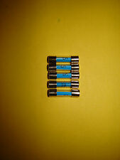 2A 2 Two Amp Glass Fuse 20mm Radio Motorcycle Classic Car Pack of 5 Five New