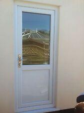 Back door upvc