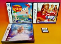 Disney: Sonny Chance, Cory House, Enchanted, Phineas - Nintendo DS Lite 3ds 2DS