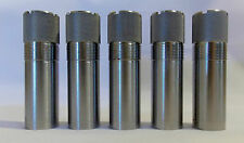 Set Of 5 Briley Stainless Beretta Mobil Choke Tube Sporting Clays Trap