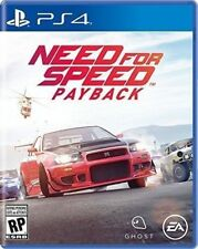 Need For Speed Payback PS4 Playstation 4 Pro Console New