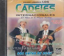 Los Cadetes Internacionales Dos Gotas De Agua CD New Sealed