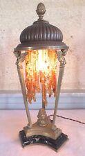 lampe veilleuse bronze 19ème époque Restauration