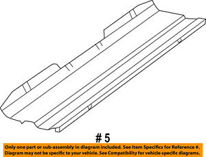 Jeep CHRYSLER OEM 14-18 Grand Cherokee 3.0L-V6 Radiator-Upper Seal 52014537AA