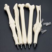 Funny Novelty Ball point Pen Bone Shape Nurse Doctor Student Creative Gift Cool