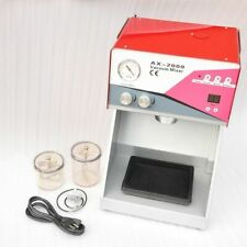 WOO Vacuum Mixer Dental Mixing Machine Vibrating Equipment Built-in Pump 240V CE