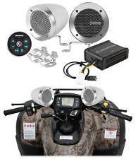 Memphis Bluetooth ATV Audio w/ Handlebar Speakers For Polaris Sportsman