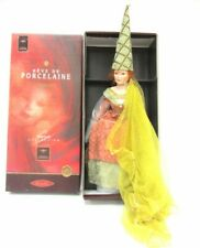 "Rare Mundia 23"" Porcelain Doll -Jeanne Medieval Christine & Cecile - France-Le"